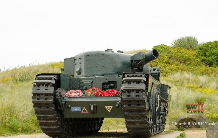 Churchill-AVRE-Tank