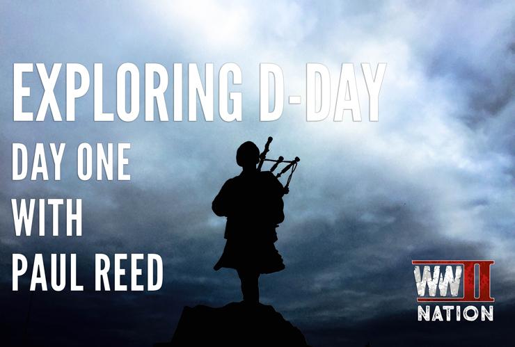 Piper-Bill-Millin-Exploring-D-Day-Paul-Reed-Logo