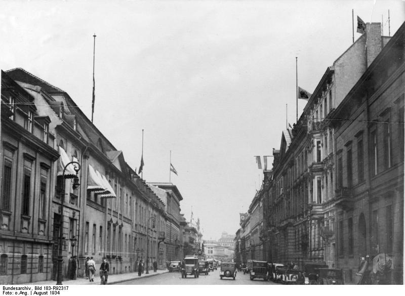 Berlin, Wilhelmstraße