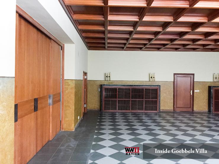 Inside Goebbels Bogensee Villa