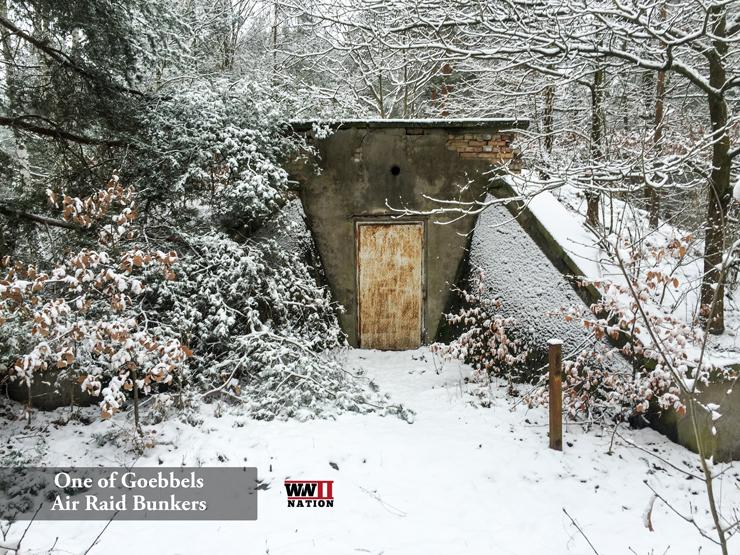 Goebbels Air Raid Shelter
