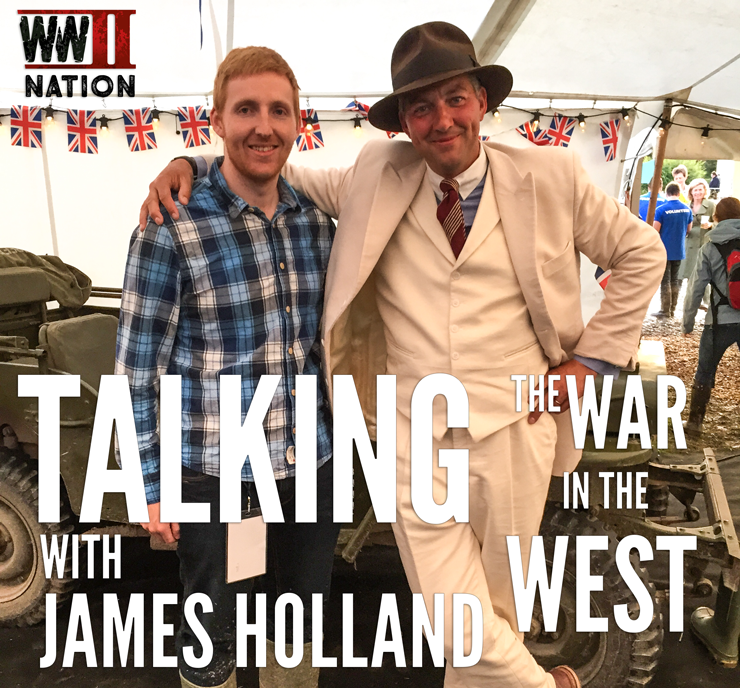 Talking-The-War-in-the-West-with-James-Holland-logo