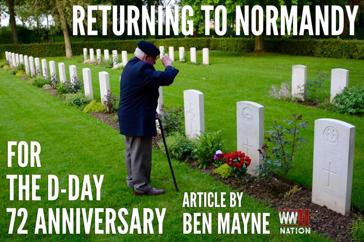 Visting-Normandy-DDay72-Ben-Mayne
