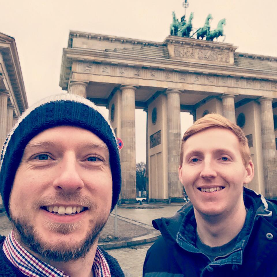 Ross and Lawrence in Berlin