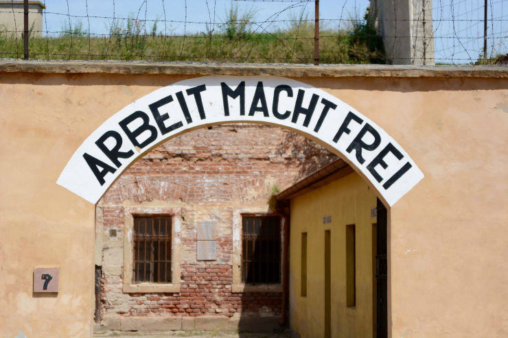 Cover Image - Concentration Camp at Terezin