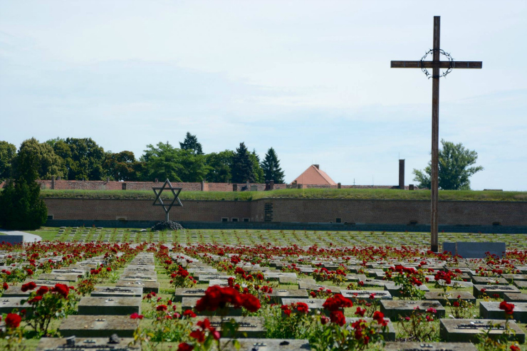 Cemetery at the Fort of Terezin