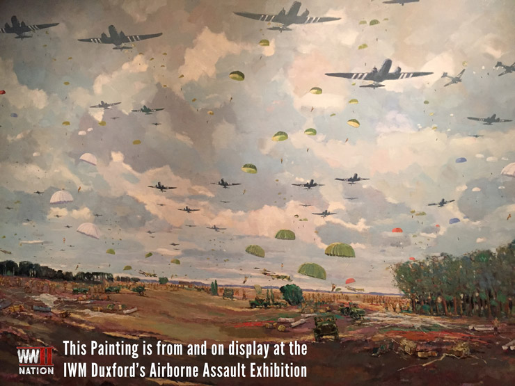 ww2-airborne-drop-painting-iwm-duxford-airborne-assault-exhibition