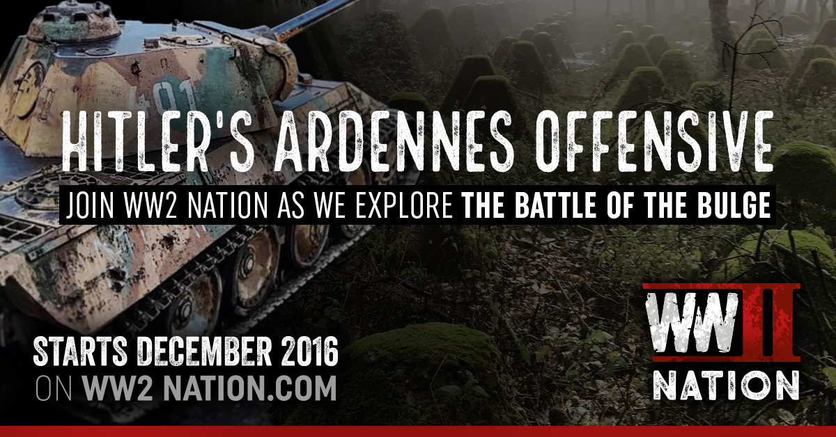 WW2 Nation Ardennes Battle of the Bulge Focus On Month