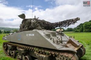 DFVS-Lily-Marlene-Sherman-Tank-Parked-Up_