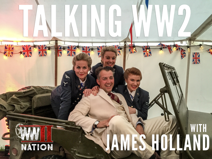 Talking-WW2-with-James-Holland-logo