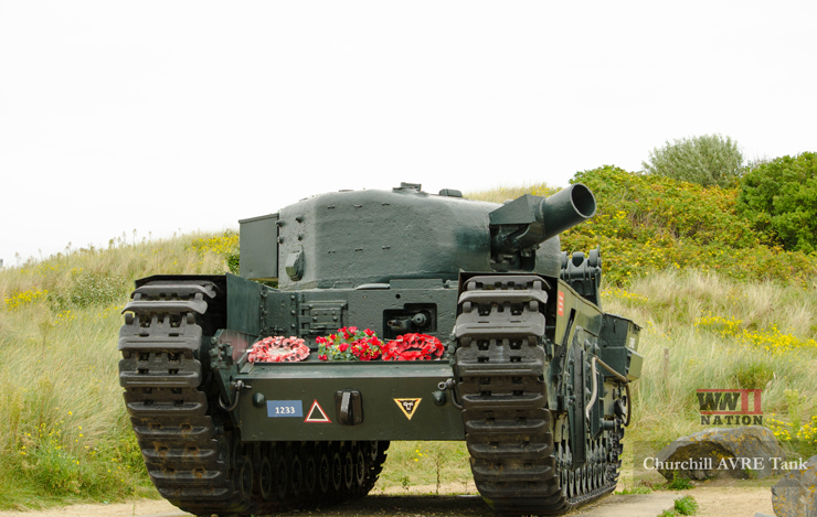 Churchill-AVRE-Tank