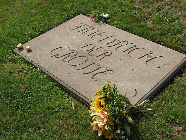 Frederick the Great Grave