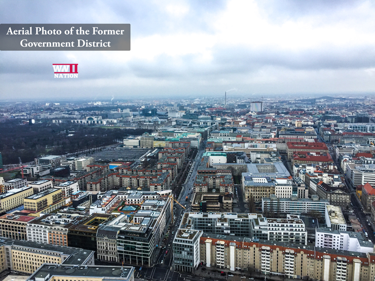 Berlin Aerial View of Central Government District