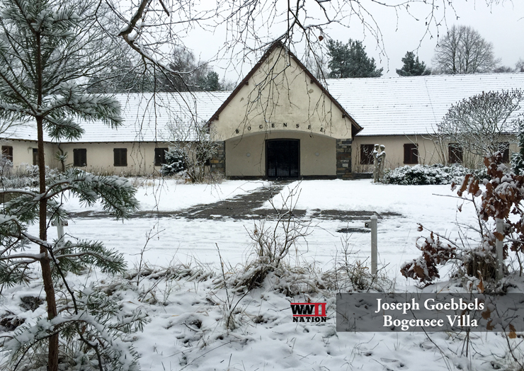 Goebbels Lanke House