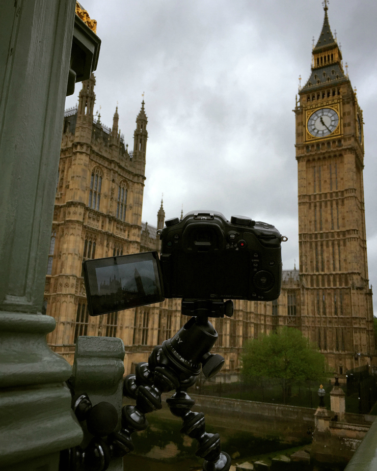 WW2 Nation Timelapse in Front of Big Ben