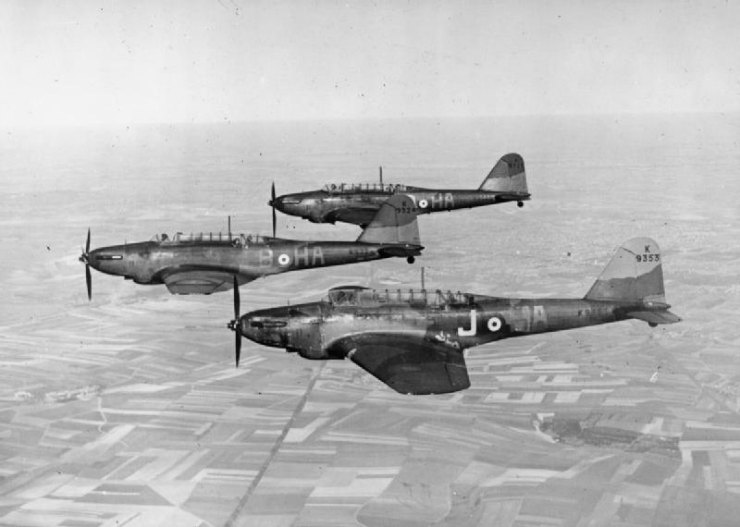 Fairey Battles Formation