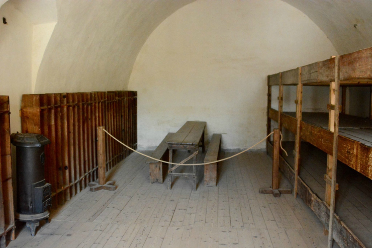 Living Conditions at the Concentration Camp at Terezin