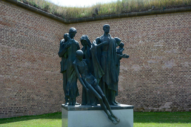 Terezin Concentration Camp Victims Memorial