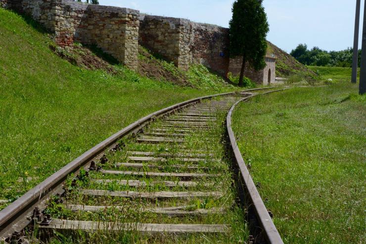 Terezin's-Railway-Tracks