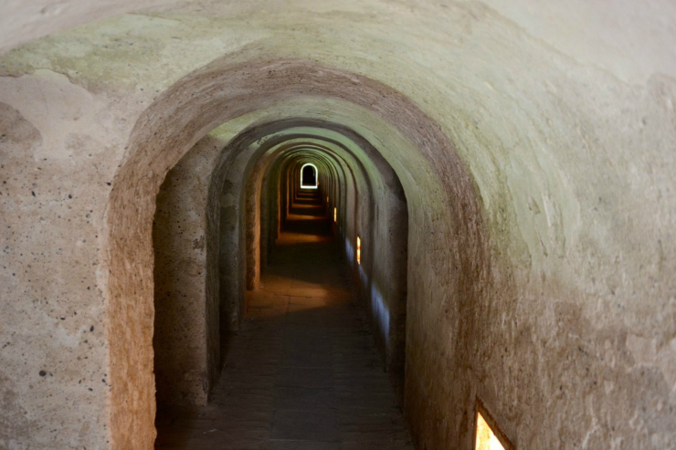 The Tunnel Network at the Concentration Camp at Terezin
