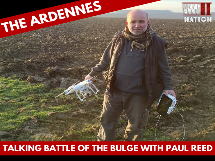 Talking the Battle of the Bulge with Battlefield Guide Paul Reed