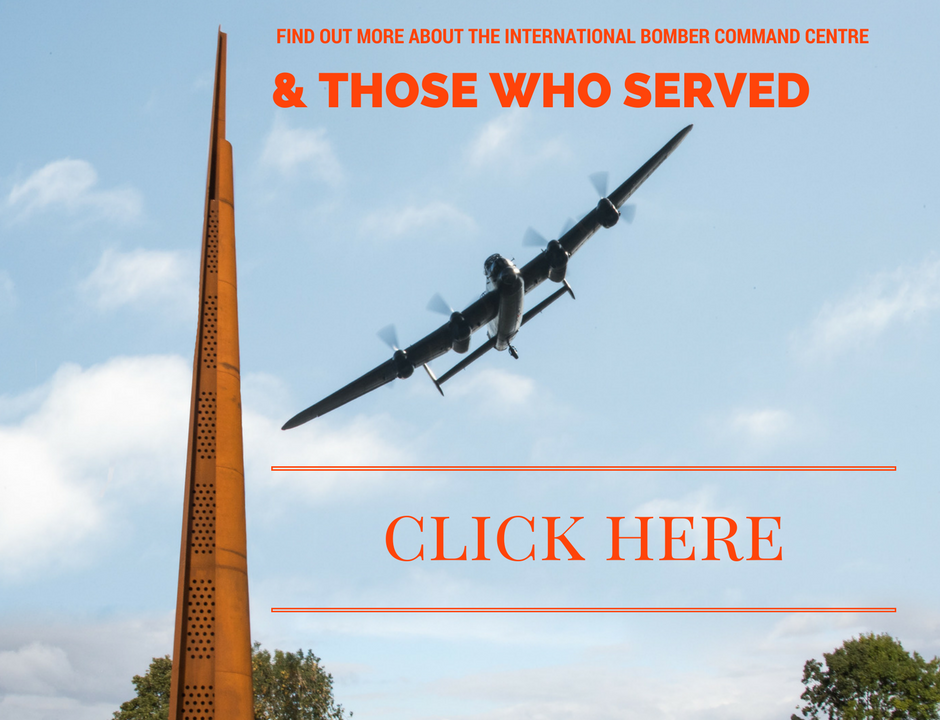 International Bomber Command Centre Spire Flypast