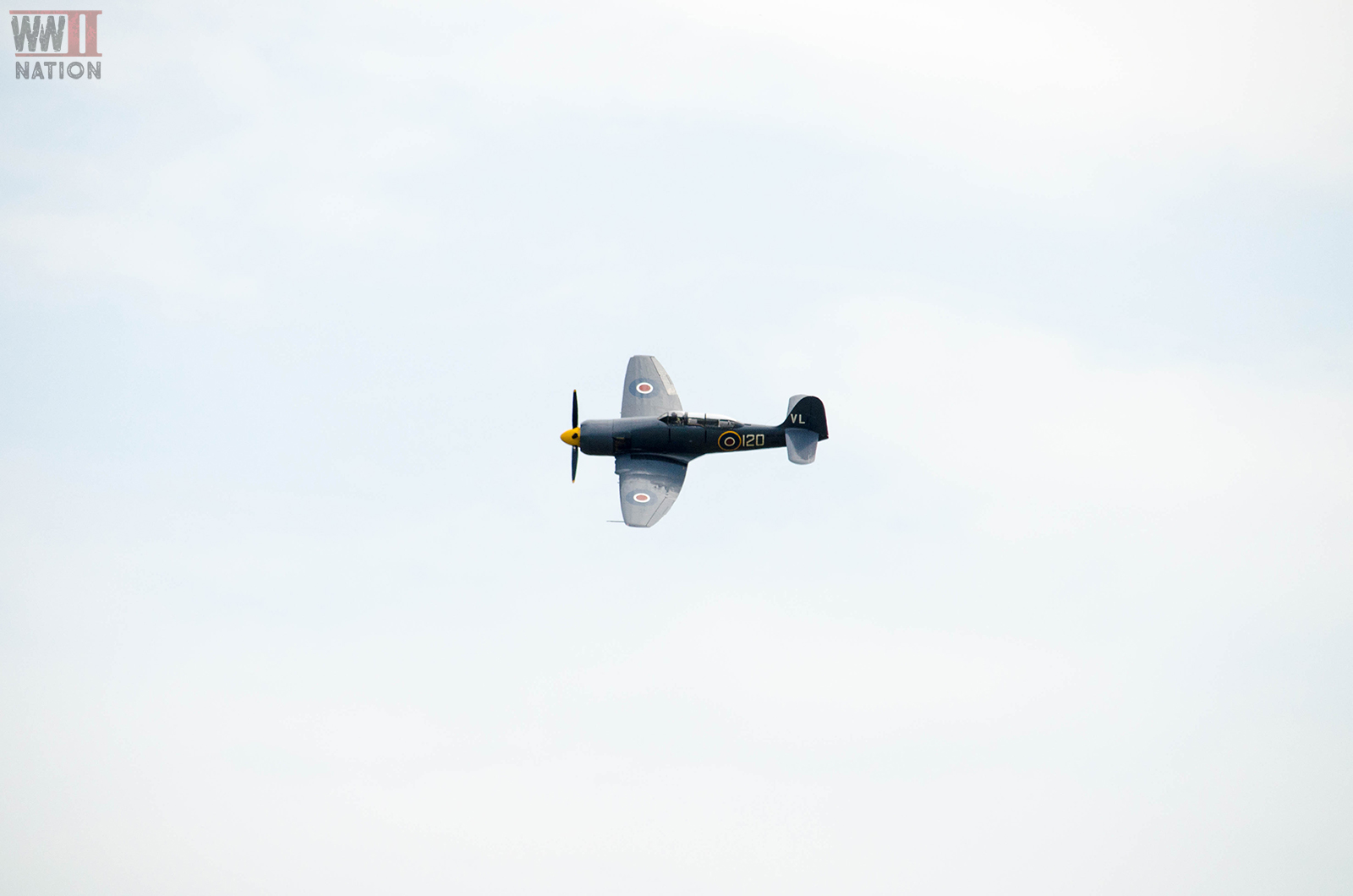 Hawker Sea Fury at the Chalke Valley History Festival 2018 Eight