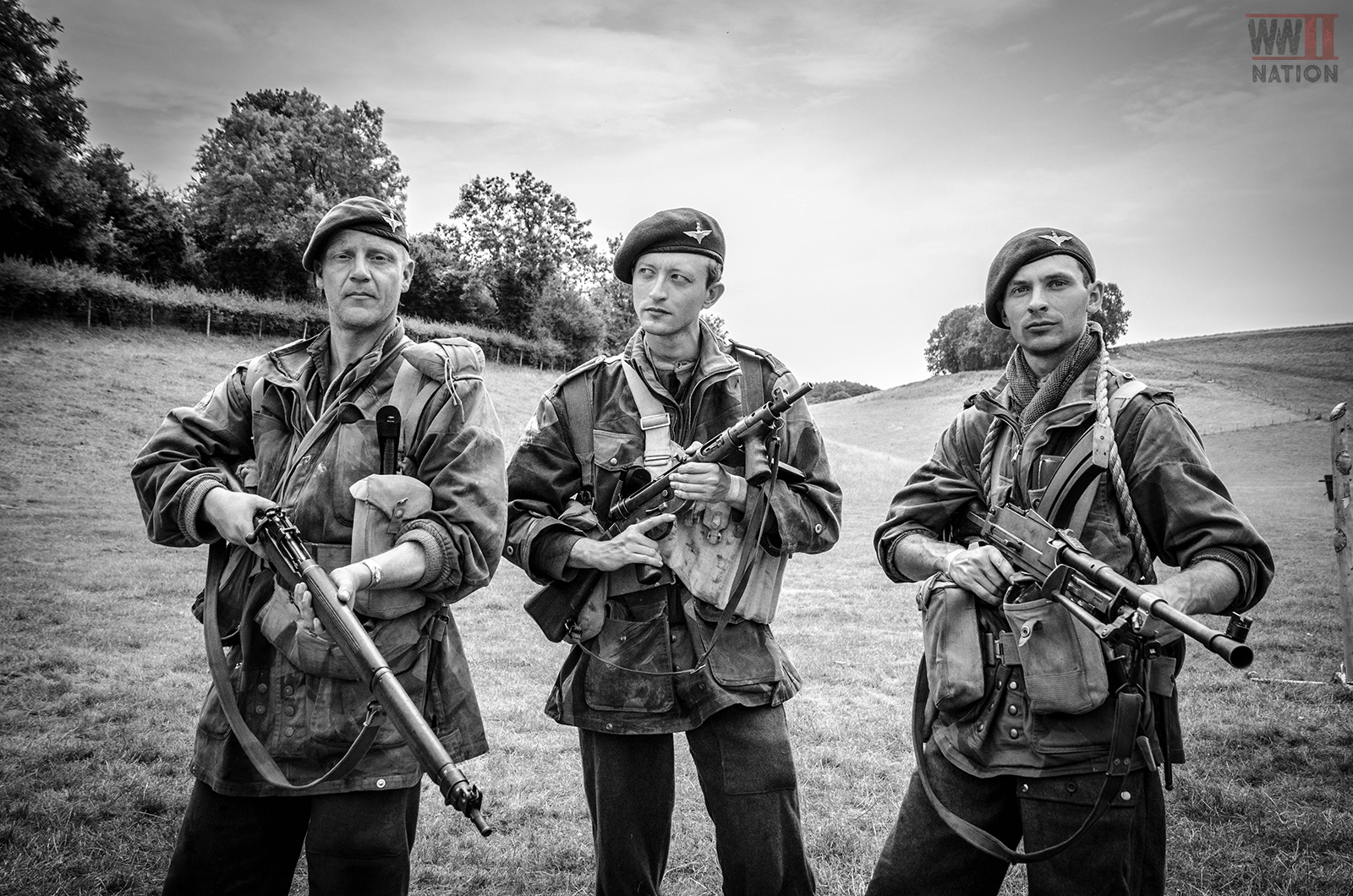 WW2 British Paratroopers at the Chalke Valley History Festival 2018 Seventeen