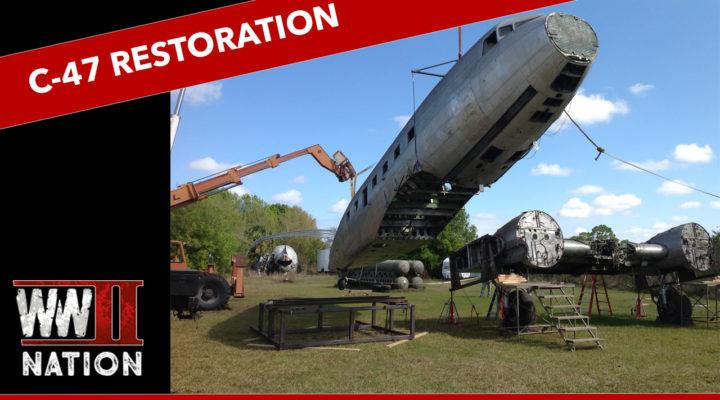 WW2 C-47 Dakota Night Fright Restoration Project June-July 2018 Update