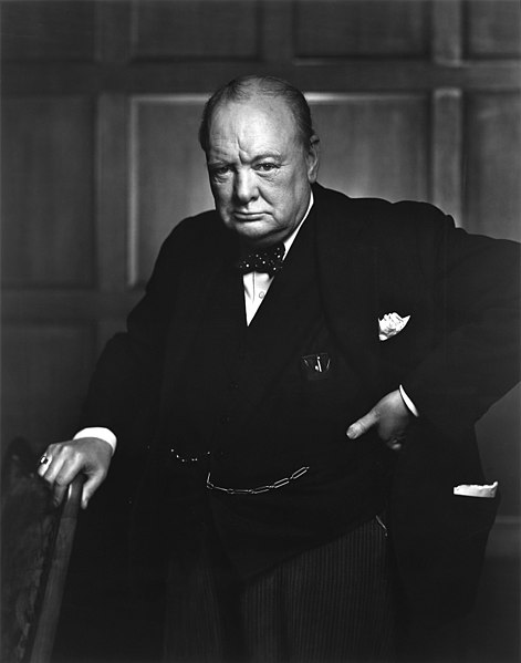 Sir Winston Churchill - December 1941. By BiblioArchives / LibraryArchives [Public domain], via Wikimedia Commons.
