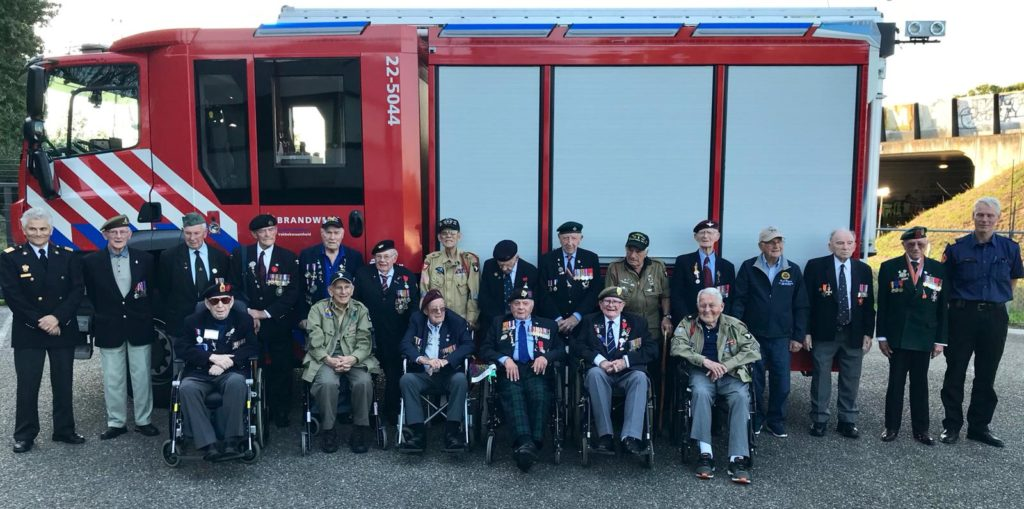 Operation Market Garden 74th Anniversary Tour - Day Four by Ben Mayne - WW2 Nation - WW2 Veterans with Eindhoven Fire Brigade Services