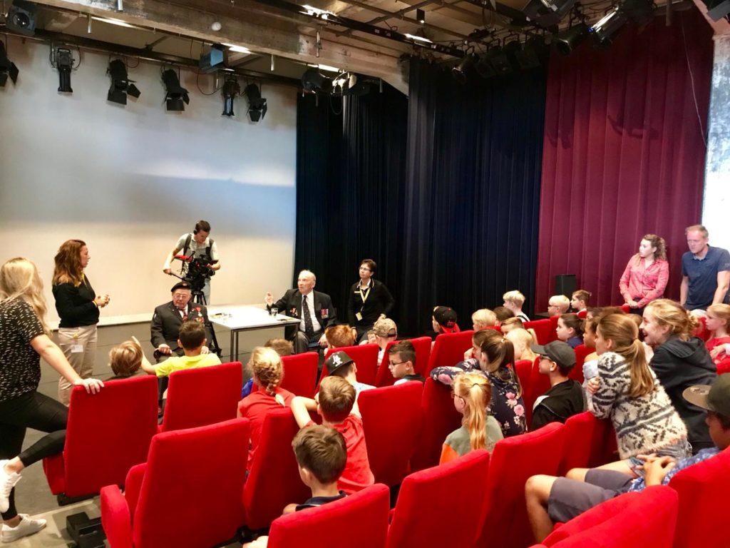 Operation Market Garden 74th Anniversary Tour - Day Three by Ben Mayne - WW2 Nation - Veterans Talking to School Children About Their Service