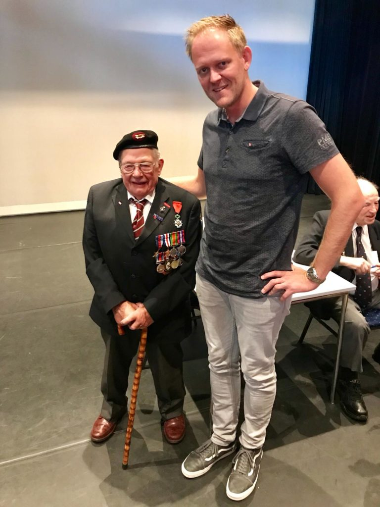Operation Market Garden 74th Anniversary Tour - Day Three by Ben Mayne - WW2 Nation - Veteran Alan King East Riding Yeomanry