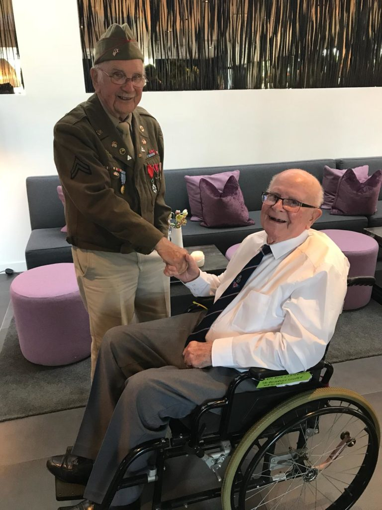 Operation Market Garden 74th Anniversary Tour - Day Three by Ben Mayne - WW2 Nation - Veterans Len Fox and Jack Myers
