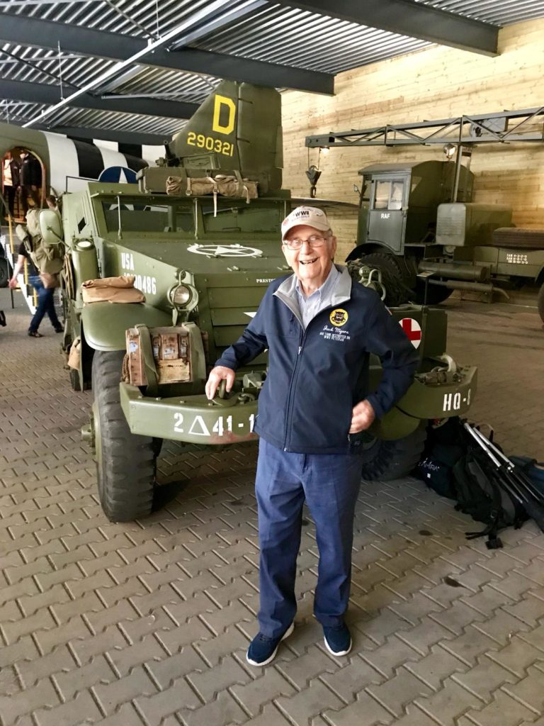 Operation Market Garden 74th Anniversary Tour - Day Four by Ben Mayne - WW2 Nation - 692 Tank Destroyer Battalion Veteran Jack Myers
