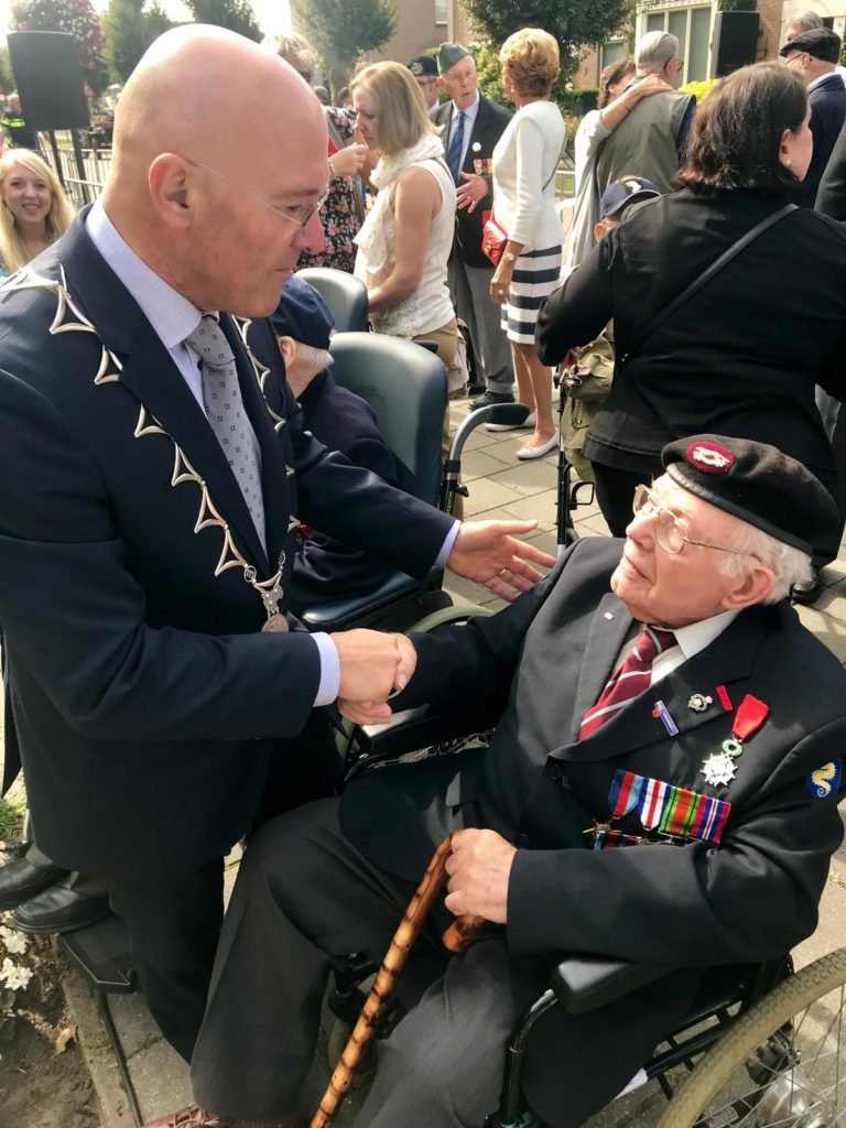 Operation Market Garden 74th Anniversary Tour - Day Two by Ben Mayne - WW2 Nation - Veteran Alan King East Riding Yeomanry