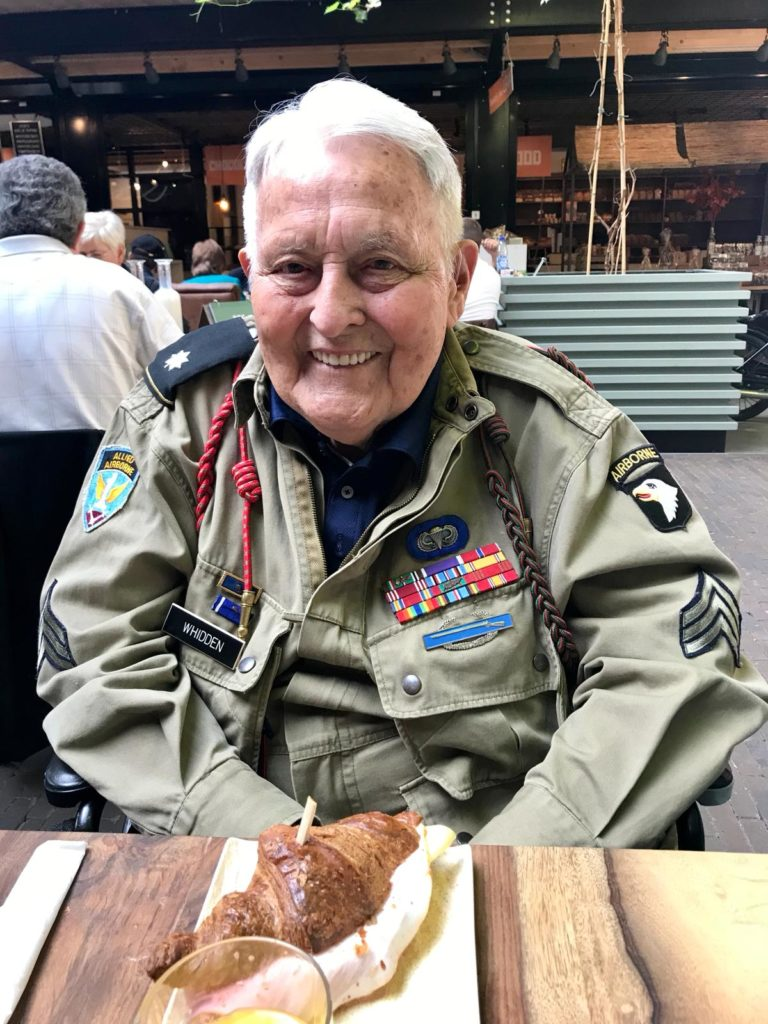 Operation Market Garden 74th Anniversary Tour - Day Three by Ben Mayne - WW2 Nation - 101st Airborne Division Veteran Guy Whidden