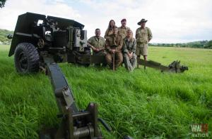 DFVS-Track-and-Wheel-Team-with-British-17-Pounder-Gun